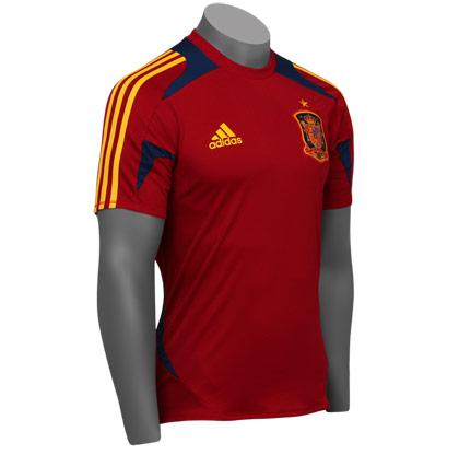 2afadd6d61 Camisa Adidas Seleção Espanhola treino - tamanho M - Sports Center